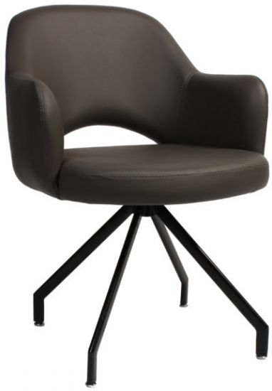 ALBURY-SWIVEL-ARM-CHAIR-GRAVITY-CHARCOAL-VINYL-scaled-e1588053883219