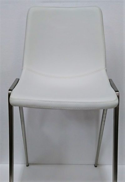 Nadine Chair Stainless Steel Legs