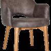 Albury arm chair timber legs